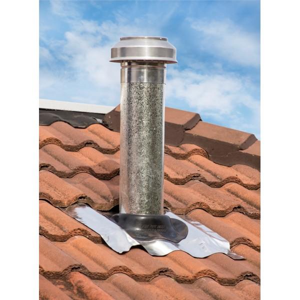 150mm Tiled Roof Range Hood Vent Kit Pacific Air